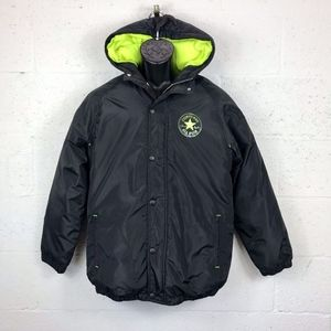 Converse Puff Raincoat Windbreaker Winter Jacket